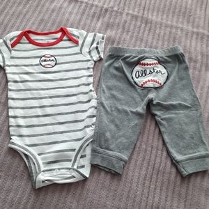 ❤5 for $25 ❤ Carters Baseball Outfit